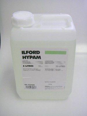 ILFORD HYPAM  FIXER 5LT