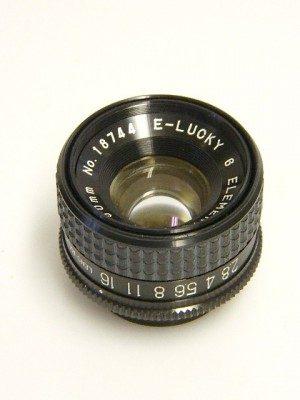 E-LUCKY 50mm f2.8 LENS***
