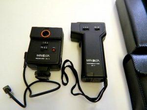 MINOLTA WIRELESS CONTROLLER IR-1 SET***