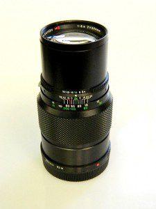 BRONICA ETRS 250mm f5.6 MC LENS***