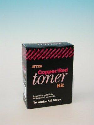 FOTOSPEED RT20 COPPER/RED TONER 150ml