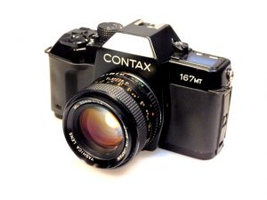 CONTAX 167MT CAMERA+ 50mm ML f1.4 LENS***