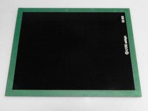 ILFORD 8X10″ GLASS GB 908 VERY DARK GREEN SAFELIGHT FILTER***