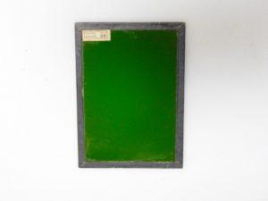 KODAK 5X7″ GLASS OA GREENISH YELLOW SAFELIGHT FILTER*