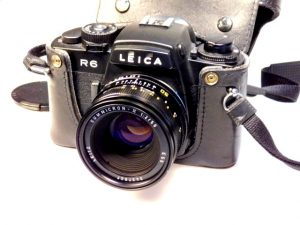 LEICA R6+SUMMICRON-R 50mm f2 LENS***