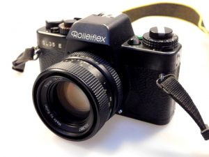 ROLLEIFLEX SL35 E + PLANAR 50mm f1.8 LENS***
