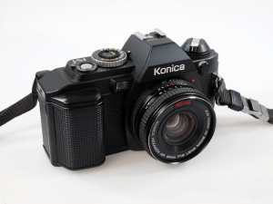 KONICA FS-1 WITH KONICA HEXANON AR 40mm f/1.8**