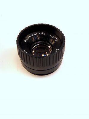 ROLLEINAR-EL 75mm f4.5 LENS***