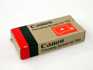 CANON TYPE-E FOCUSING SCREEN FOR T90*** (BOXED)