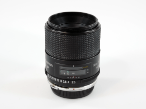TAMRON SP 90mm f/2.5 MACRO LENS FOR OLYMPUS OM MOUNT WITH TELECONVERTER*** (BOXED)