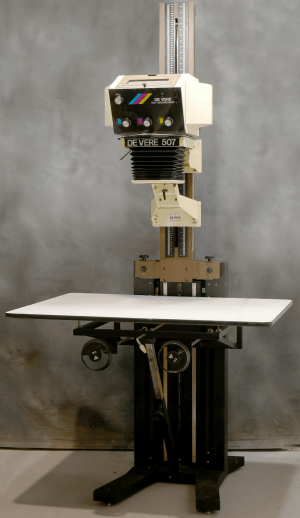DEVERE 507 FREE-STANDING ENLARGER WITH DICHROMAT MKII HEAD***